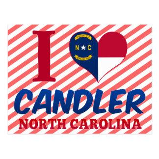 Candler, North Carolina Postcard