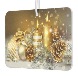 Candles and Cones Car Air Freshener
