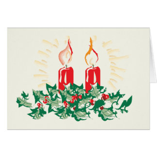 Candles and Ivy Cards