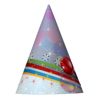 Candles and Ornaments Party Hat