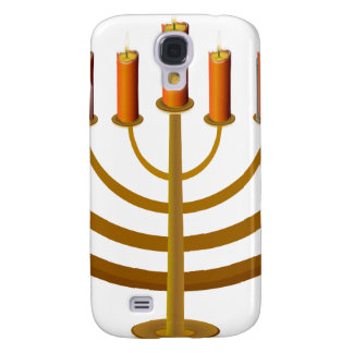 candles candleholder candlestick hanukkah jewish galaxy s4 case