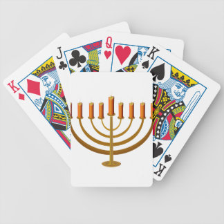 candles candleholder candlestick hanukkah jewish deck of cards
