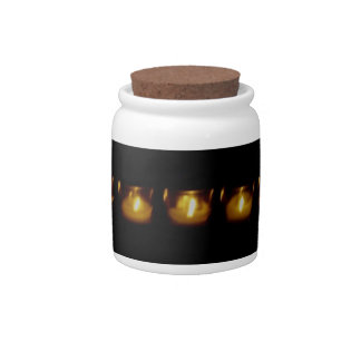 Candles Candy Dish