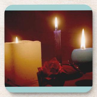 Candles Cork Coaster