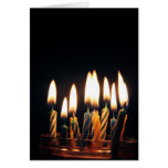Candles for birthday card