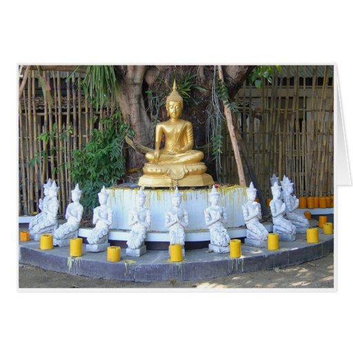 Candles for Buddha Card