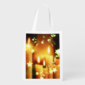 Candles Grocery Bag