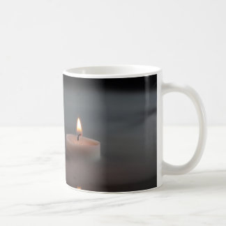 Candles in the mist coffee mug