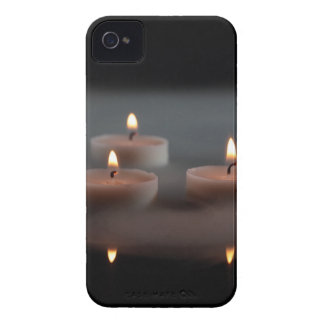 Candles in the mist iPhone 4 cases