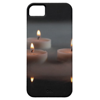 Candles in the mist iPhone SE/5/5s case