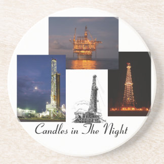Candles in The Night Drink Coaster