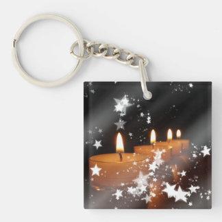 Candles Acrylic Keychain