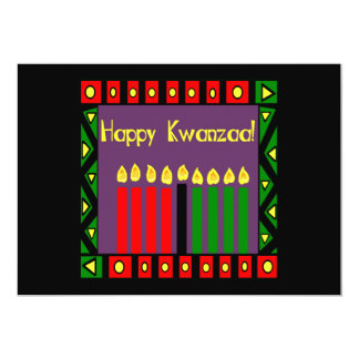 Candles Of Hope Kwanzaa Holiday Party Invitations