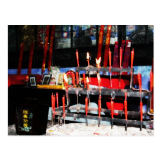Candles of Worship Postcard