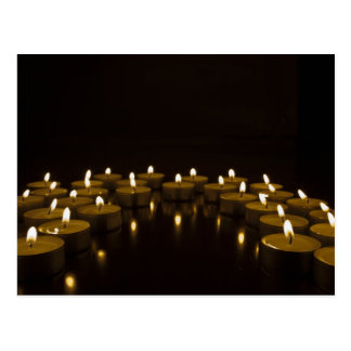 candles post card