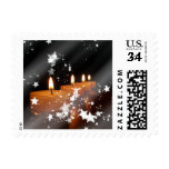 Candles Postage Stamps