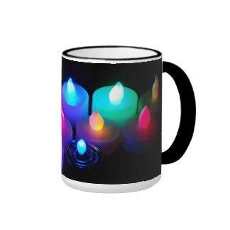 Candles - ringer mug