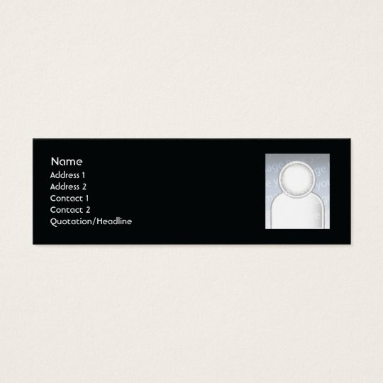 Candles - Skinny Mini Business Card