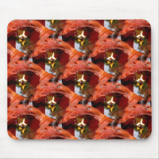Candlescape Reflections tiled Mousepad