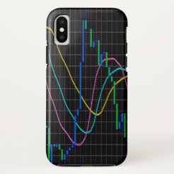 Candlestick chart forex iPhone x case