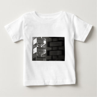Candlestick with shadow BW Baby T-Shirt