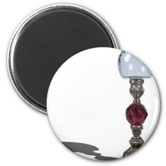 CandleStickCrystalGlobe030111 Fridge Magnet