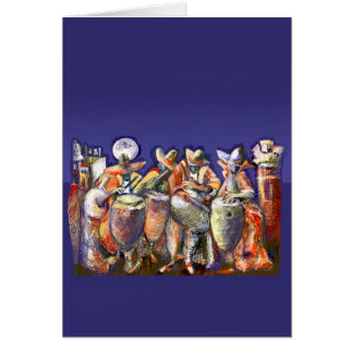 **Candombe 2005** Greeting Card