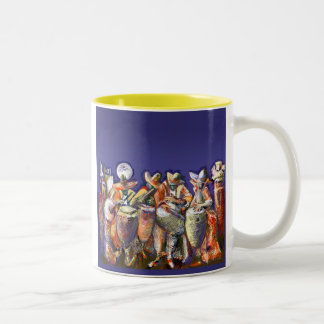 **Candombe 2005** Two-Tone Coffee Mug