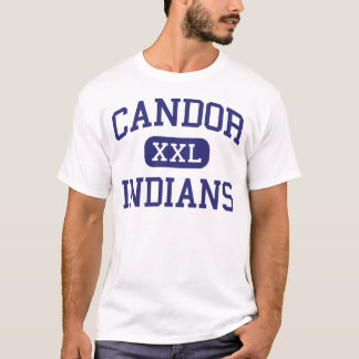 Candor - Indians - High School - Candor New York T-Shirt