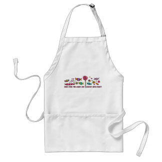 candy adult apron