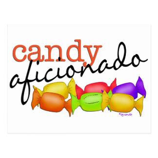 Candy Aficionado Postcard