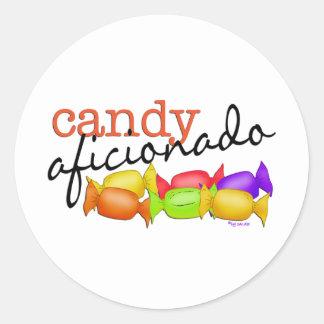 Candy Aficionado Classic Round Sticker