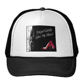 Candy and Shoes Cap Mesh Hats