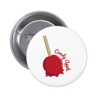 Candy Apple Pinback Buttons