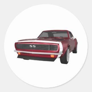 Candy Apple Camaro SS: 3D Model: Sticker