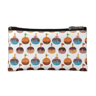 Candy apple cosmetic bag