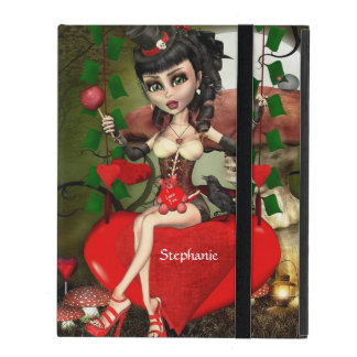Candy Apple Love Gothic Lolita Art Powis iPad Case