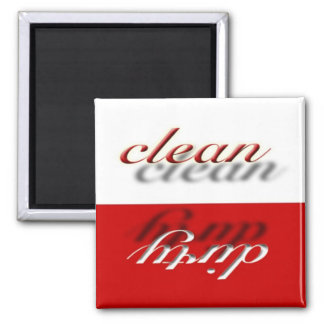 Candy Apple Red Dishwasher Magnet
