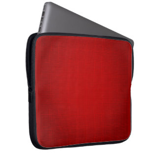CANDY APPLE RED GRID BACKGROUND TEMPLATE MATRIX DI LAPTOP COMPUTER SLEEVES