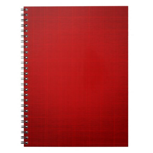 CANDY APPLE RED GRID BACKGROUND TEMPLATE MATRIX DI NOTE BOOK