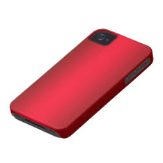Candy Apple Red Iphone 4/4s Case Mate Case at Zazzle
