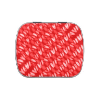 Candy Apple Red Stripes Jelly Belly Tin