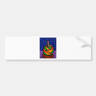 Candy Apple T by Piliero Bumper Stickers