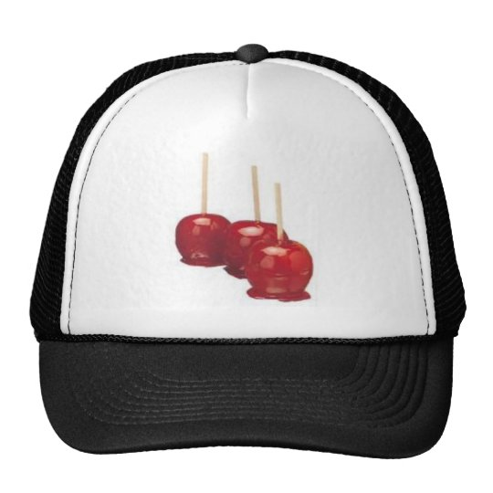 candy apple trucker hat