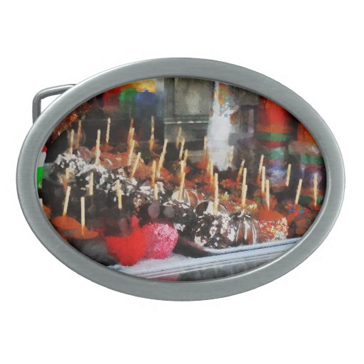 Candy Apples Belt Buckles