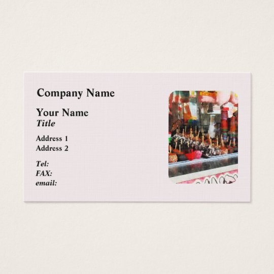 Candy Apples Business Card