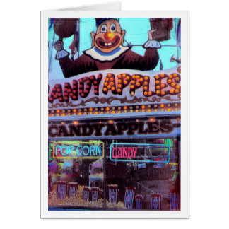 Candy Apples Card