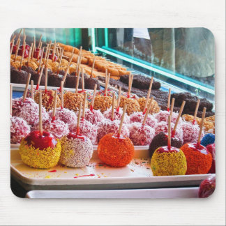 Candy Apples - Coney Island, NYC Mousepad