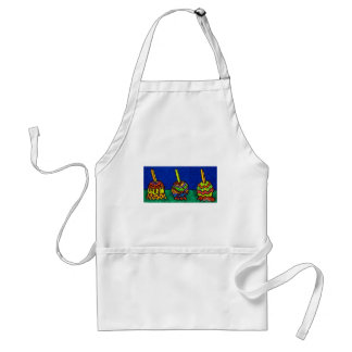 Candy Apples F by Piliero Adult Apron