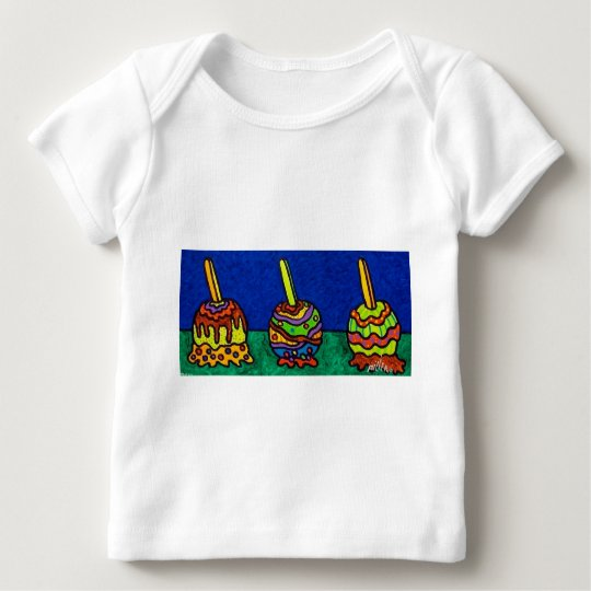 Candy Apples F by Piliero Baby T-Shirt